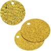 Sequins Hologram 40mm 4mm Hole Round Marigold